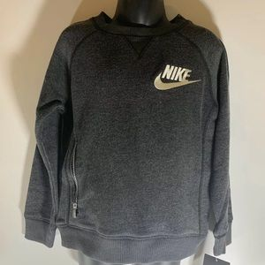 Nike SB Sweatshirt size Boys 4, cool zipper pocket